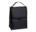 Black Folding Lunch Cooler Bag