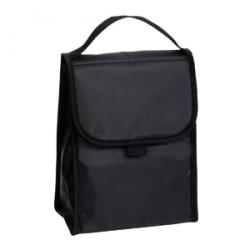 Black Folding Lunch Cooler Bag
