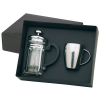 Stainless Steel Coffee Mug and Plunger Set