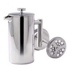 Double Walled Stainless Steel Coffee Plunger