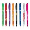Bic Pivo Clear Pen Chrome Trim Pen