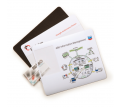 Business Card Mouse Mats - 1mm Base