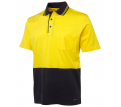 JB Hi Vis Short Sleeve Cotton Polo