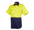 JB Hi Vis Short Sleeve 150gsm Shirt