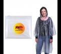 Reusable Poncho In PVC Zipper Pouch