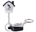 Mini House Flashlight Key Ring