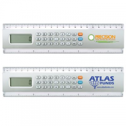 CLEARANCE STOCK: 20cm Calculator/Ruler