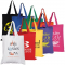 Coloured Cotton Short Handle Tote Bag