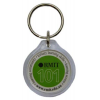 Round Acrylic Key Ring
