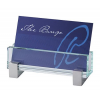 Glass Desk Business Card Holder