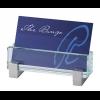 Glass Desk Business Card Holder