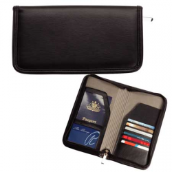 Zippered Travel Wallet