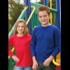 Kids Coloured Patriot Long Sleeve Tee