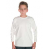 Kids Patriot Long Sleeve Tee White