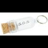 Message in a Bottle Key Ring