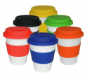 Mix & Match White Cermaic Takeaway Cup
