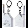 1 Metre Mini House Measure Key Ring