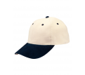 Suede Peak, Heavy Brushed Cotton Cap