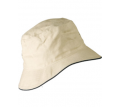 Soft Washed Bucket Hat with Sandwich Trim