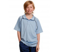 Kids CoolDry Raglan Contrast Polo Shirt