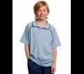 Kids CoolDry Raglan Contrast Polo Shirt