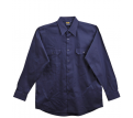 Mens Cotton Drill Long Sleeve Work Shirt