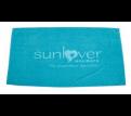 Cotton Velour  Beach Towels with Tone on Tone Logo