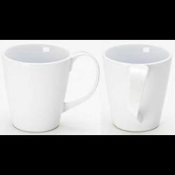 White Curlz Mug