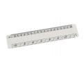 Oval Scale Ruler 15cm