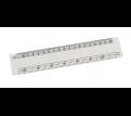 Oval Scale Ruler 15cm
