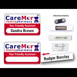 Window Epoxy Badges