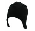 Acrylic & Polar Fleece Beanie with Ear Flaps