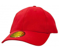 Brushed Heavy Cotton and Spandex Fitted Cap