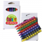 Assorted Colour Crayons in White Box