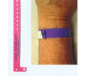 Trilaminate Wrist Band