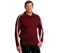 Mens Fashion Long Sleeve Polo