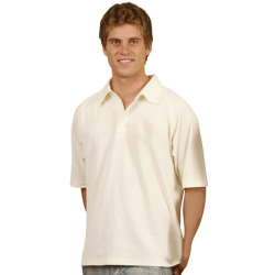 Men's True Dry Short Sleeve Cricket Polo
