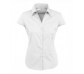 Ladies Metro Cap Sleeve Stretch Shirt