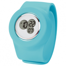 Unisex Digital Slap On Watch Round
