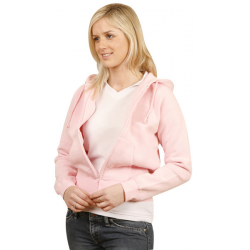 Ladies Full Zip Fleecy Hoodie