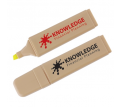 Recycled Yellow Highlight Marker