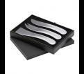 Sienna Stainless Steel Cheese Set
