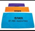 Signature Velour Towels with Black Print