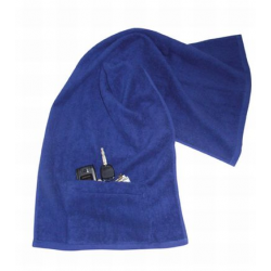 Sports Towel with Pocket n Zip