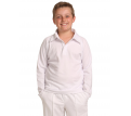 Kids Long Sleeve Cricket Polo Shirt