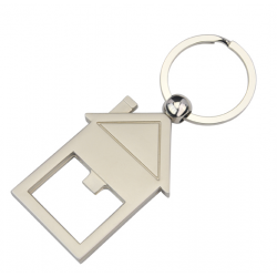 House Warming Bottle Opener Key Ring
