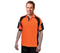 Mens Safety Polo with Under Arm Mesh