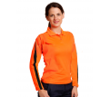 Ladies Long Sleeve Fashion Safety Polo