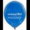 30cm Balloon Printed 1 Colour 1 Side
