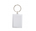 Blank Square Insert Key Ring